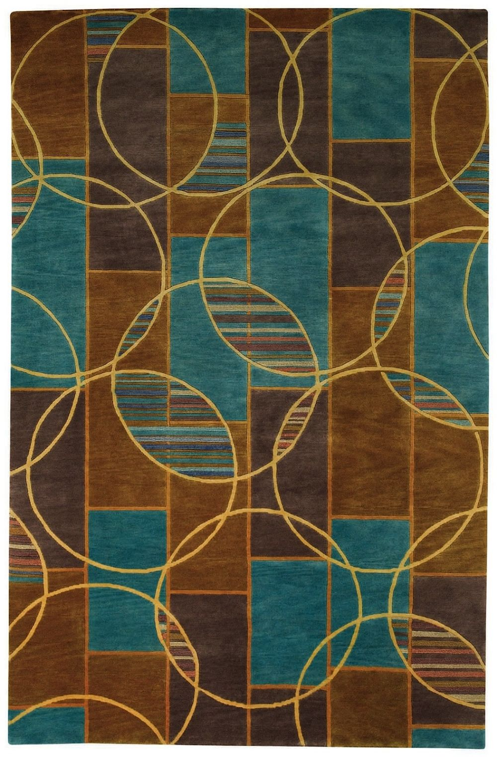 capel crystalle-spheres contemporary area rug collection