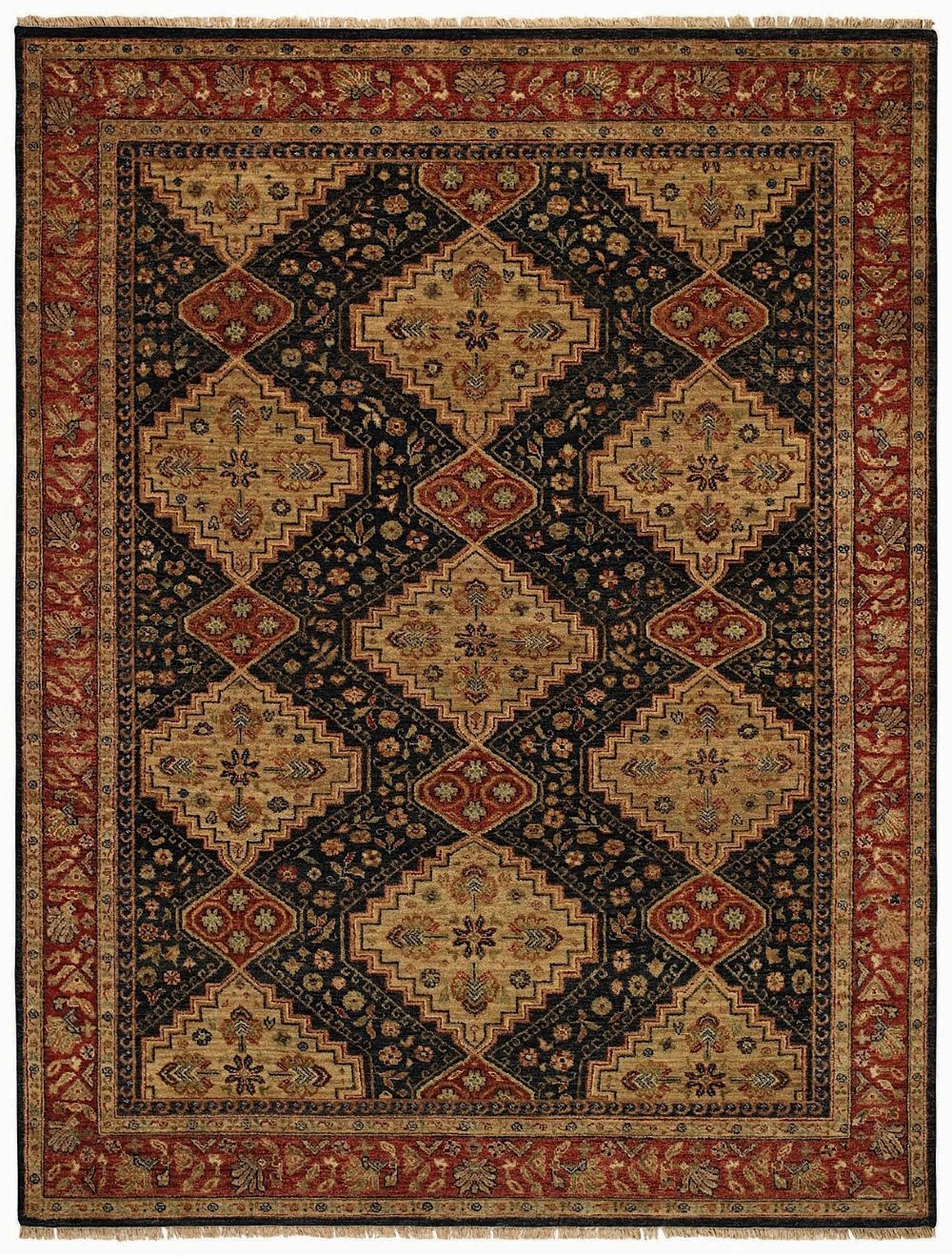 capel gloria-serab transitional area rug collection