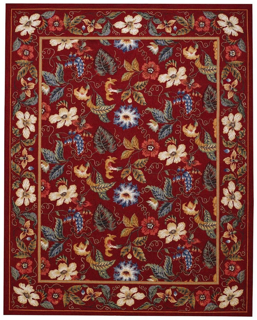 capel floral garden transitional area rug collection