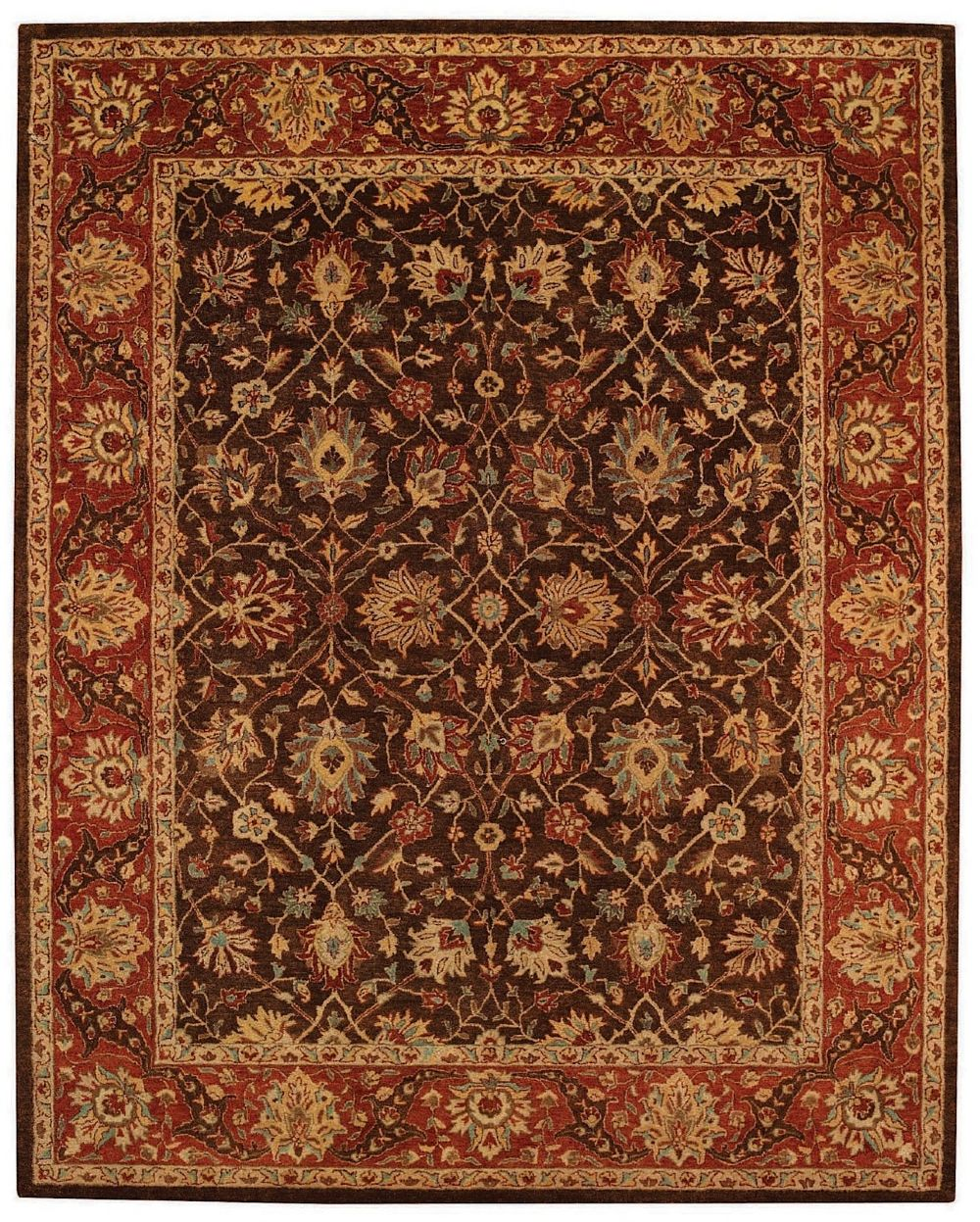capel monticello-herati traditional area rug collection