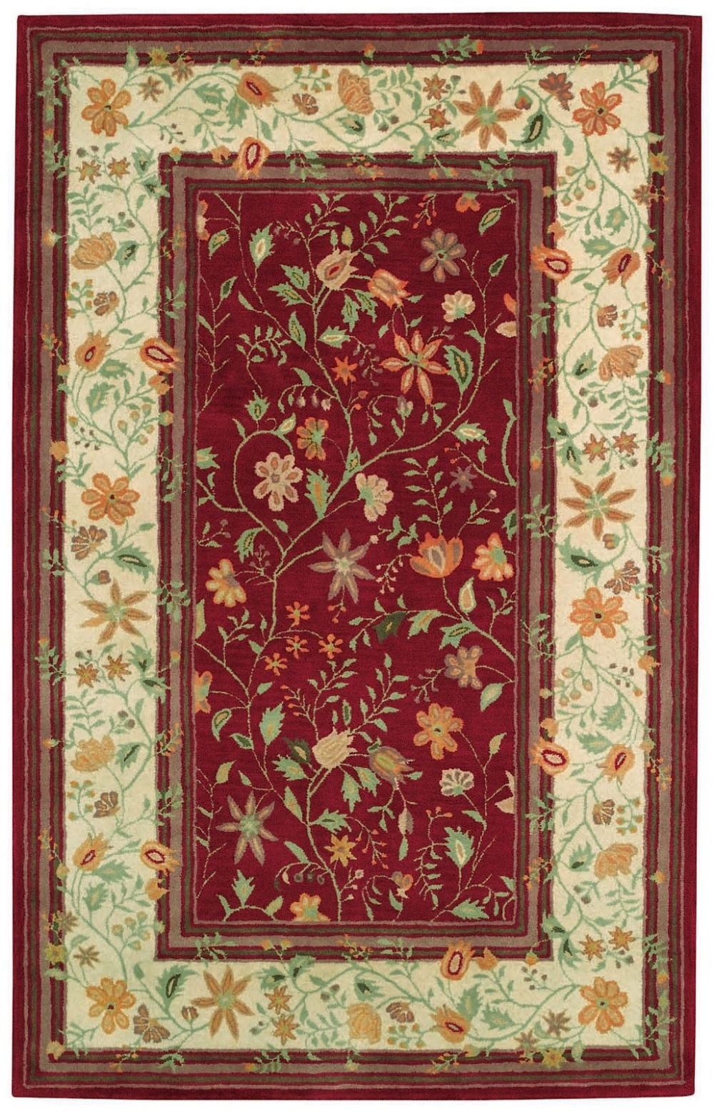 capel piedmont-promenade transitional area rug collection