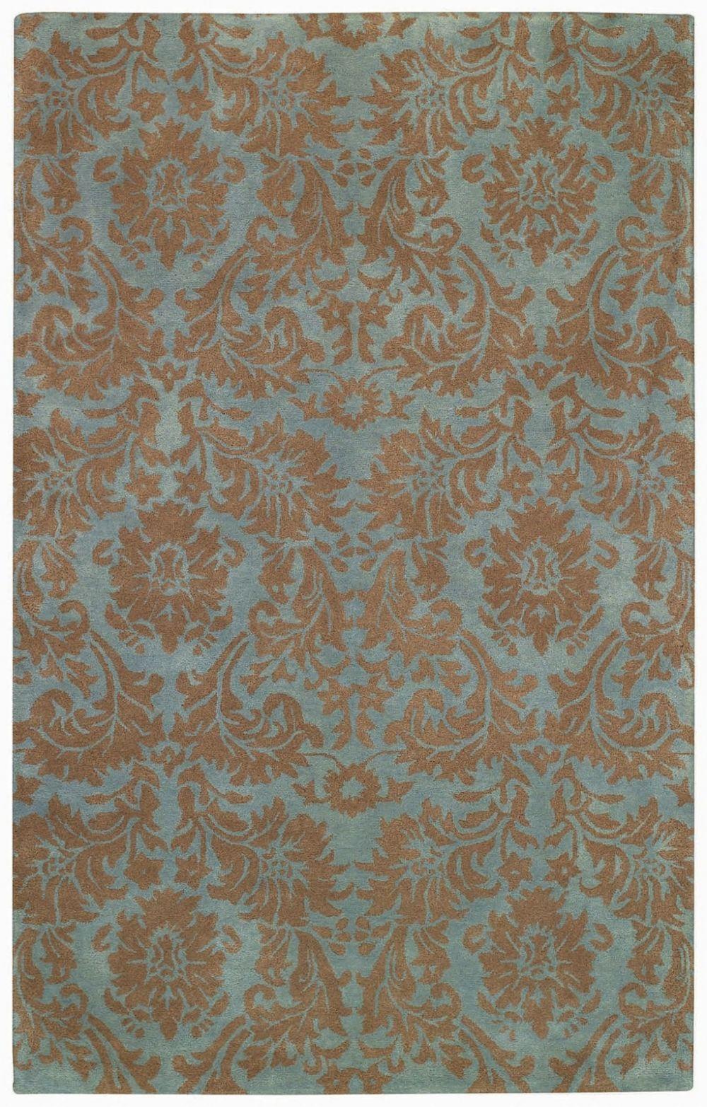 capel piedmont-floral damask transitional area rug collection