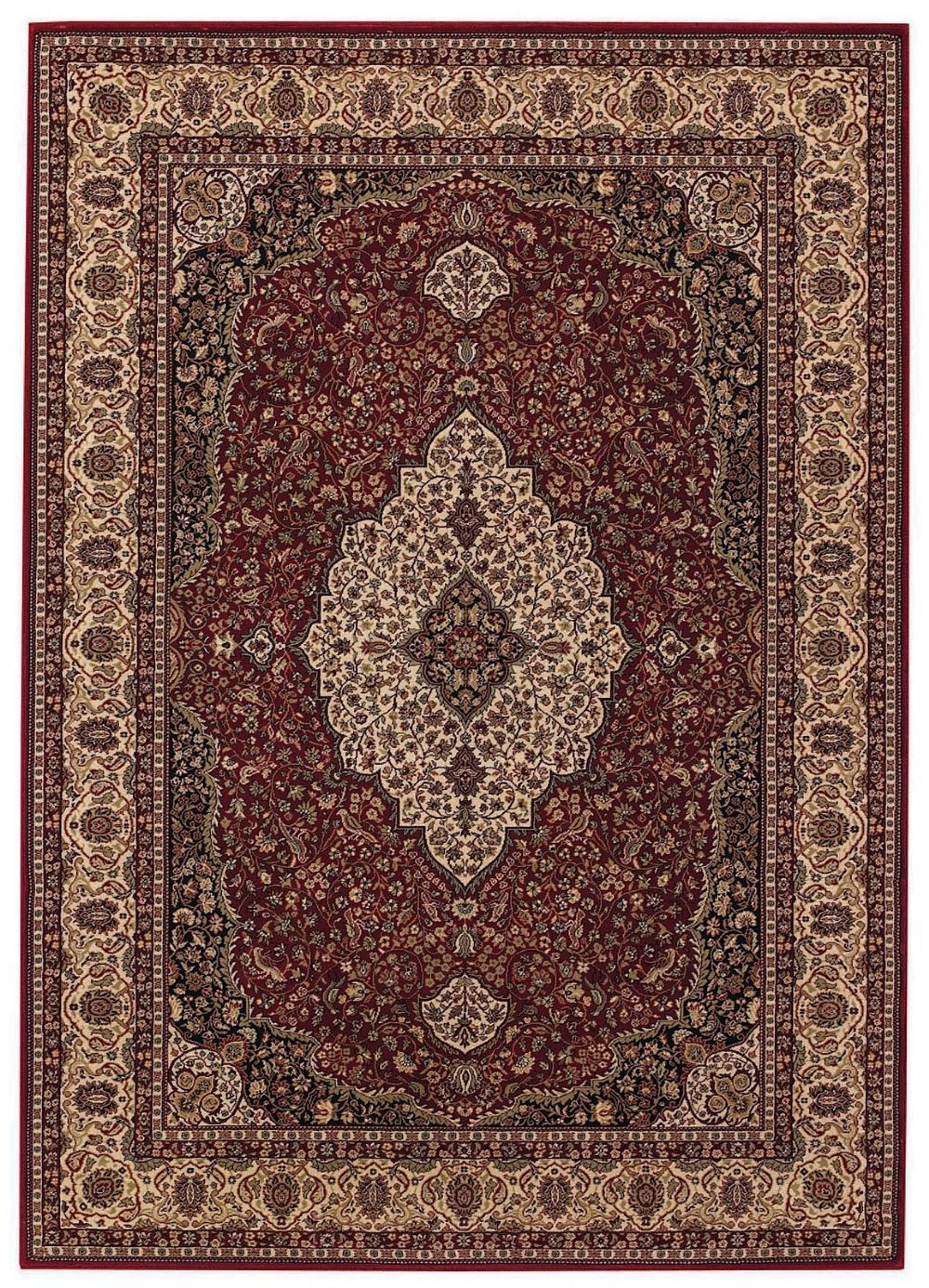 capel satin-kashan european area rug collection