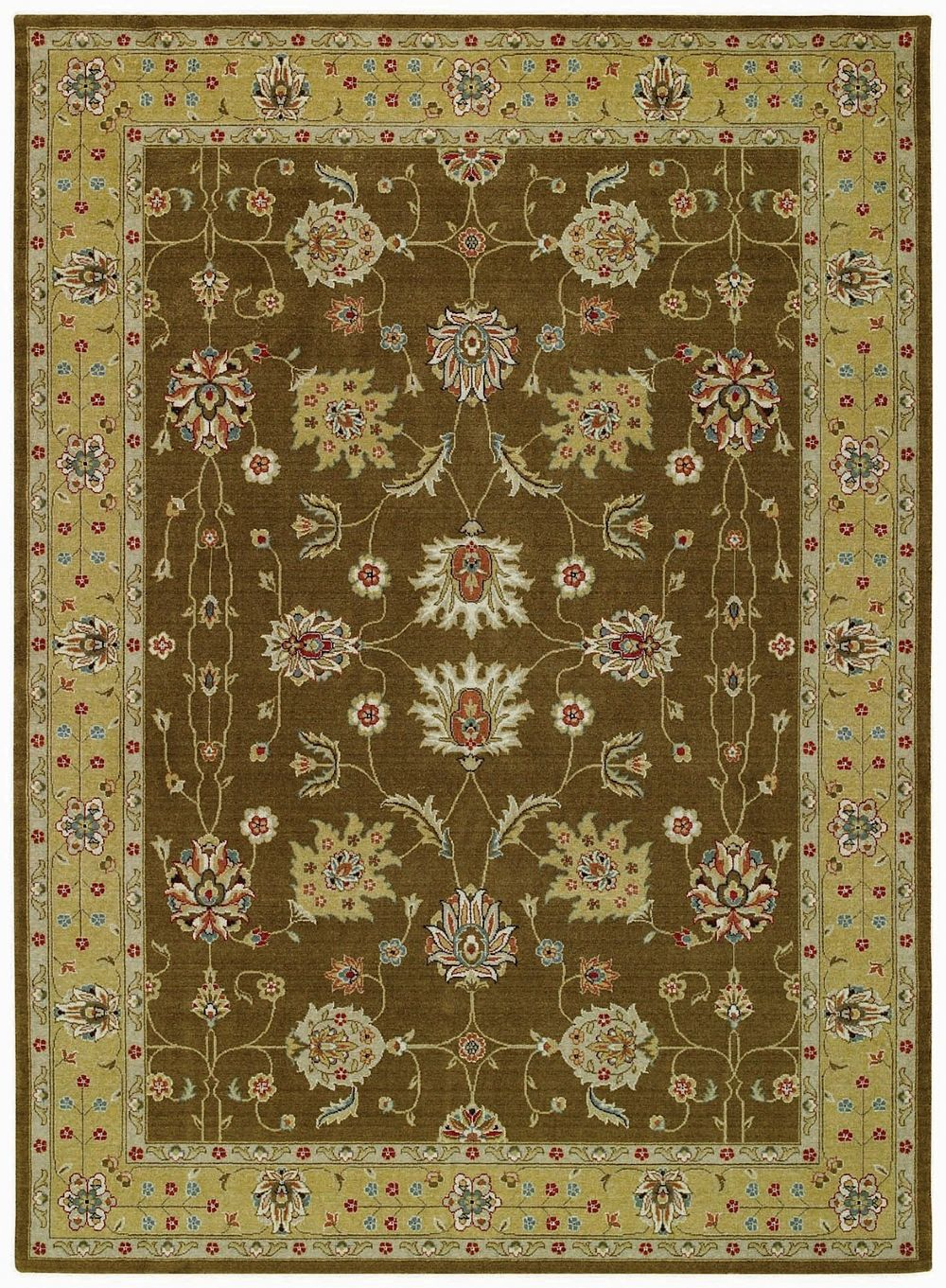 capel regina-ushak traditional area rug collection