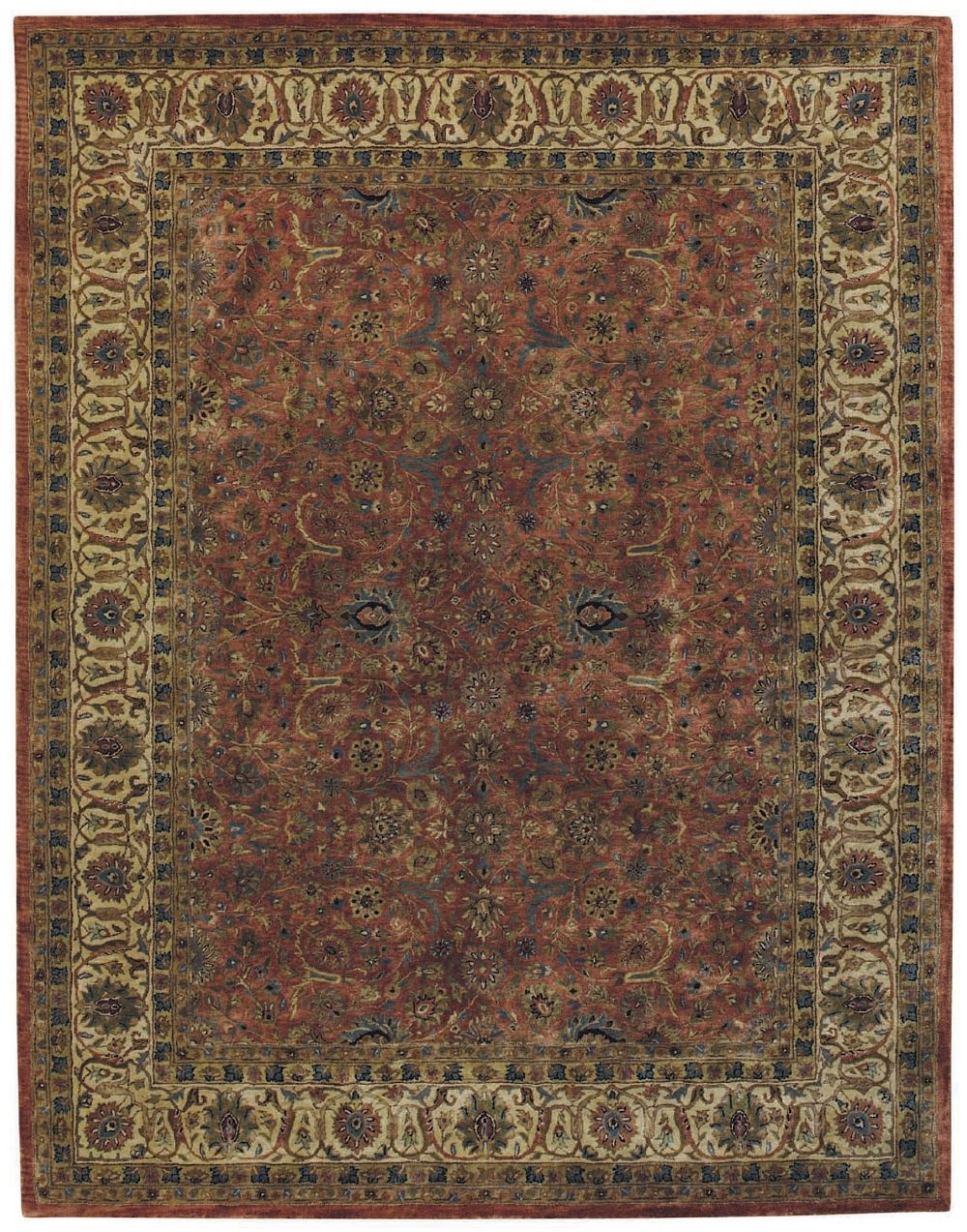 capel mahal-floral traditional area rug collection