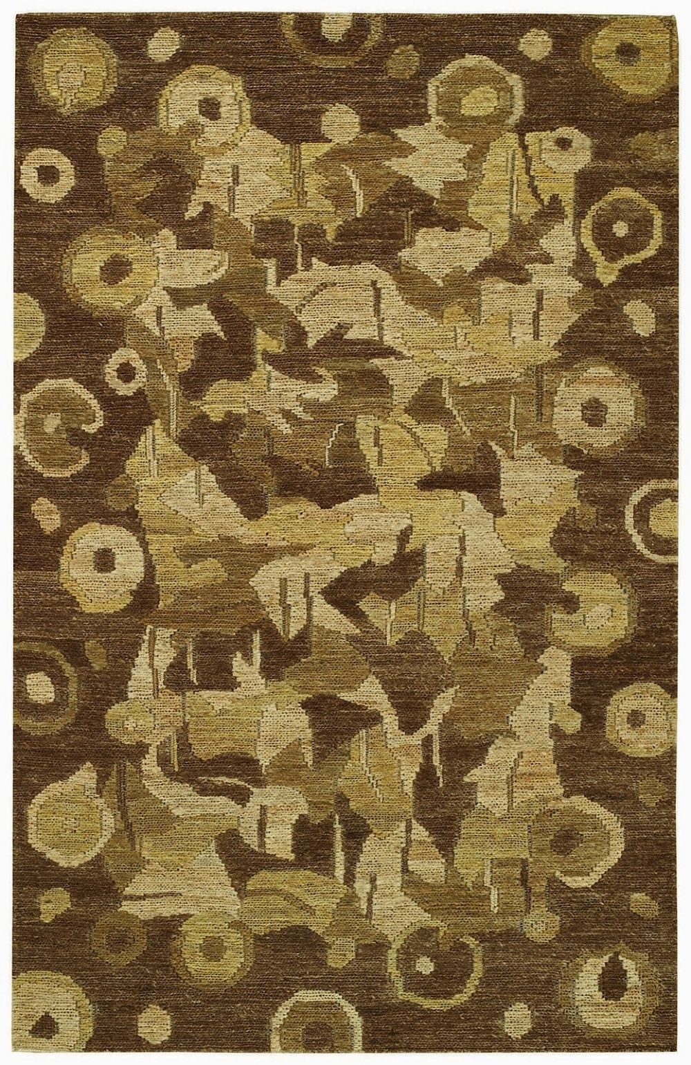 capel karma naturals-burl contemporary area rug collection