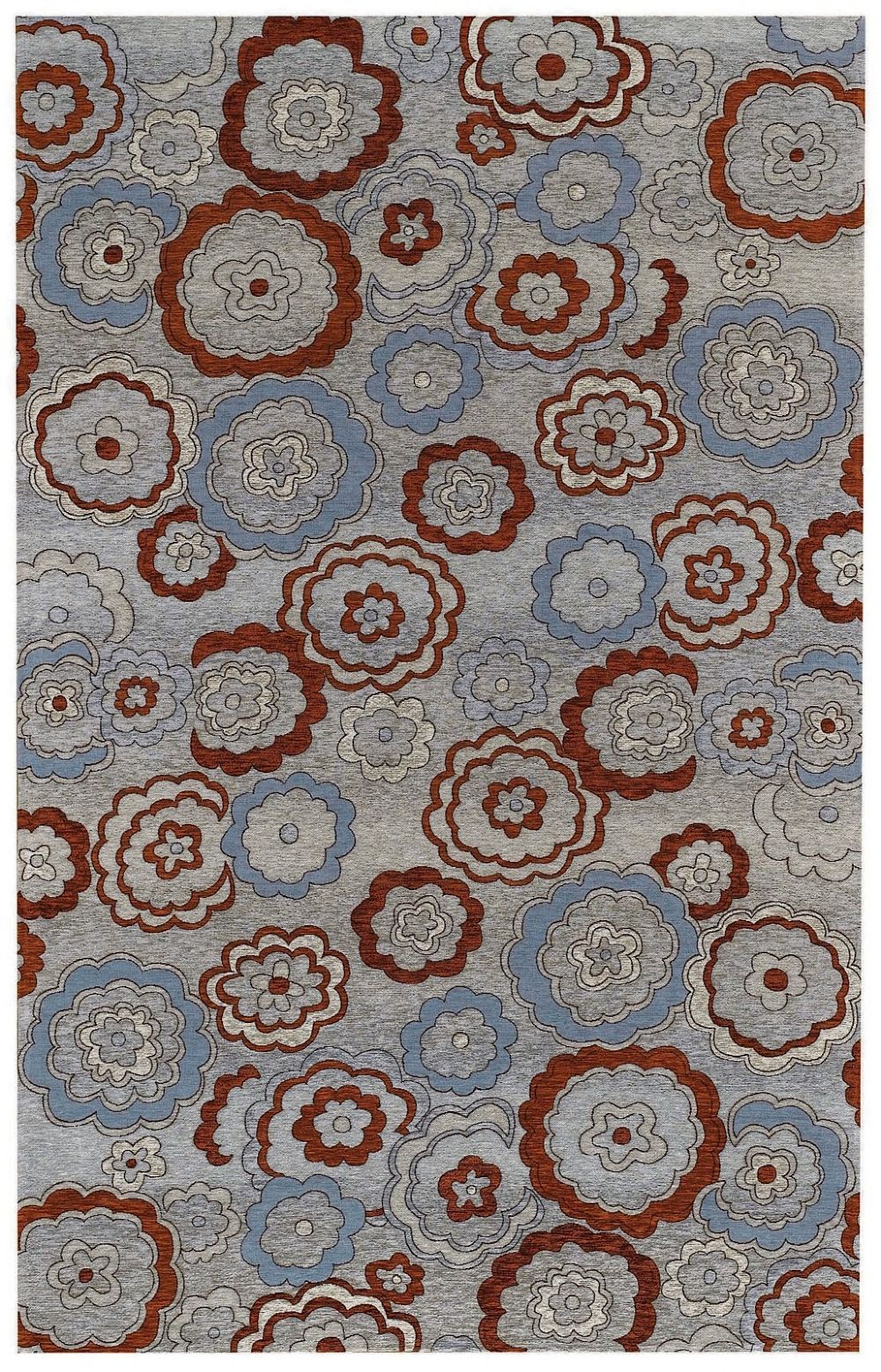 capel water garden transitional area rug collection