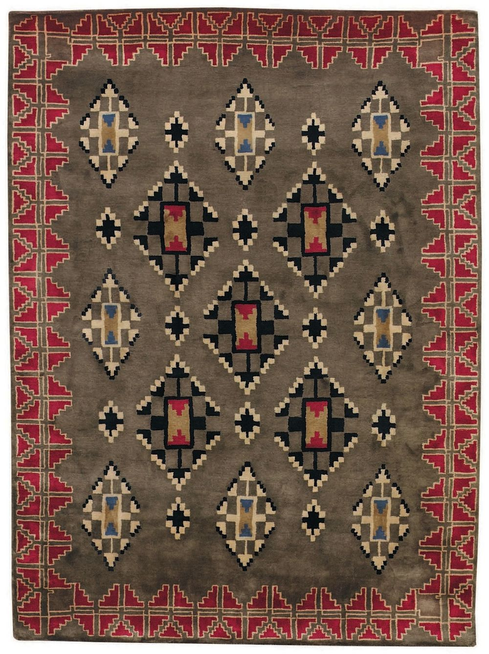 capel stairstep southwestern/lodge area rug collection