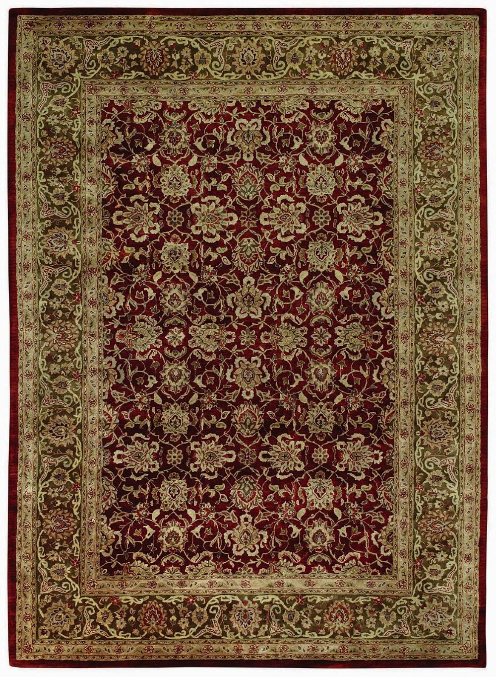 capel forest park-meshed traditional area rug collection