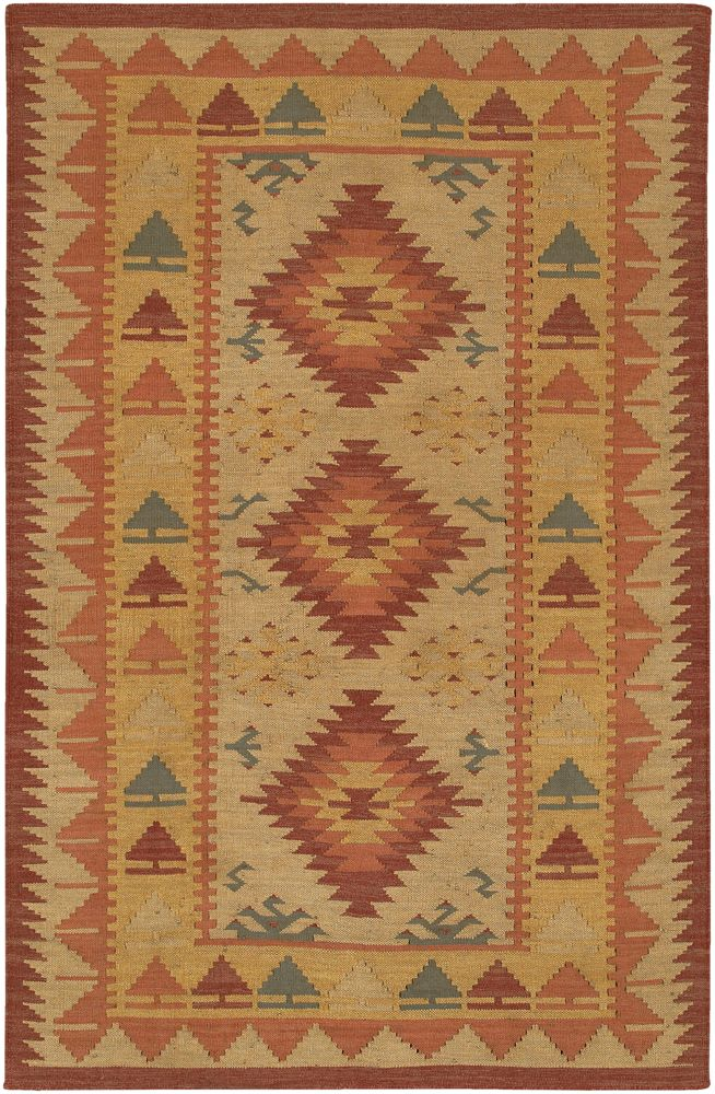chandra kilim southwestern/lodge area rug collection