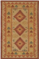 Rectangle rug, Flat Woven rug, Traditional, Kilim, Chandra rug