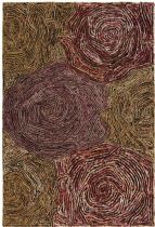 Chandra Contemporary Twister Area Rug Collection