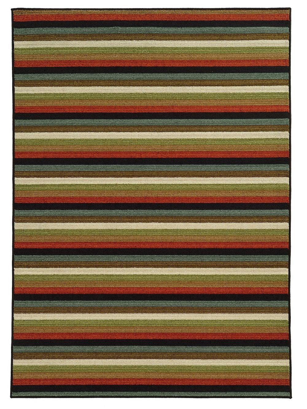 oriental weavers arabella solid/striped area rug collection