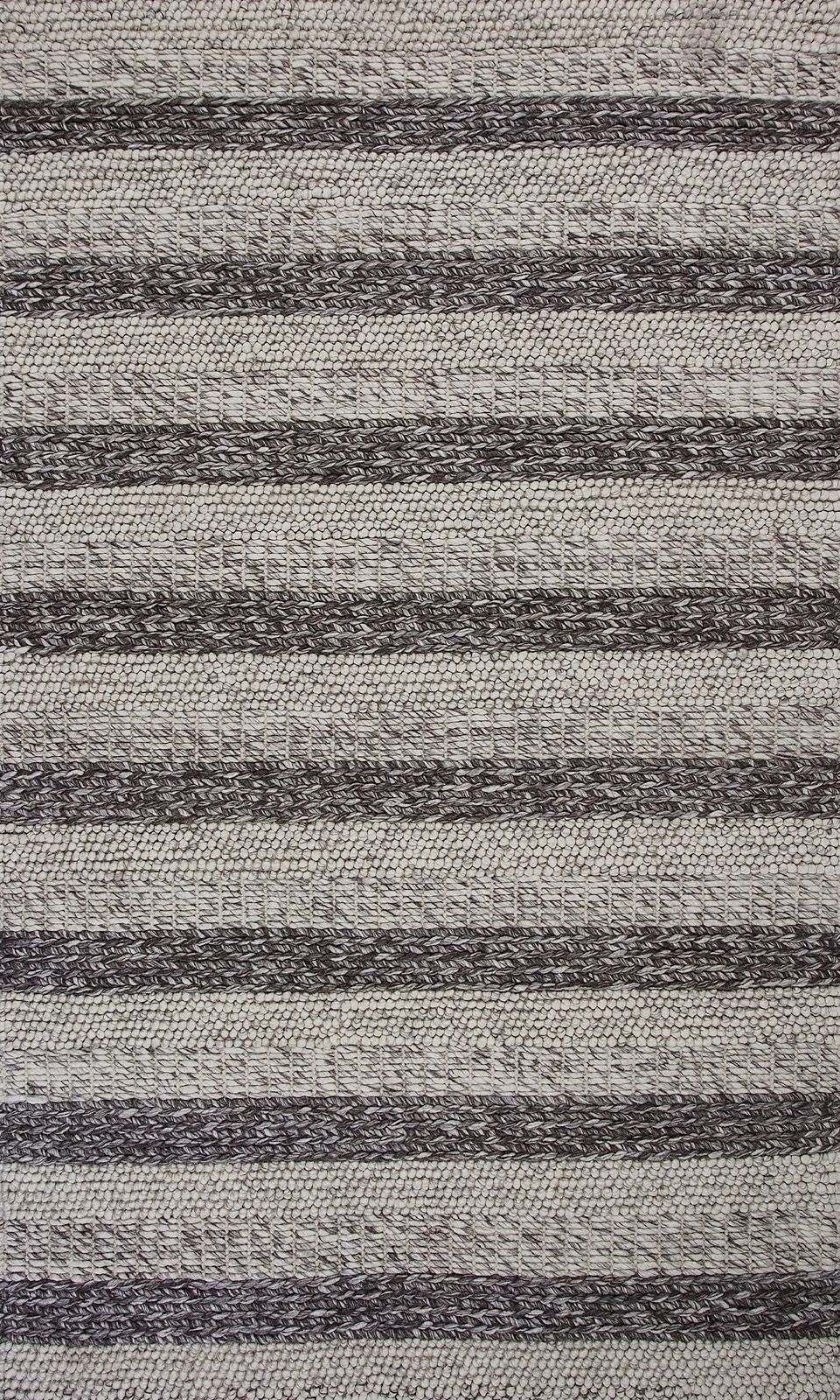 kas cortico solid/striped area rug collection