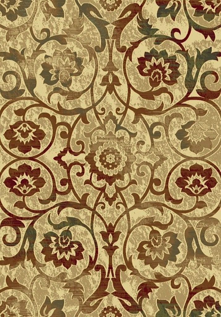 dynamic rugs majestic country & floral area rug collection