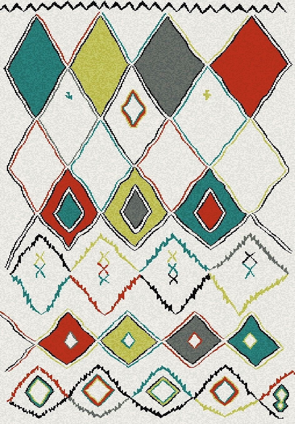 dynamic rugs nomad transitional area rug collection