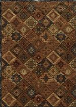 Rectangle rug, Power Loomed rug, Southwestern/Lodge, Bennington, Rizzy Rugs rug