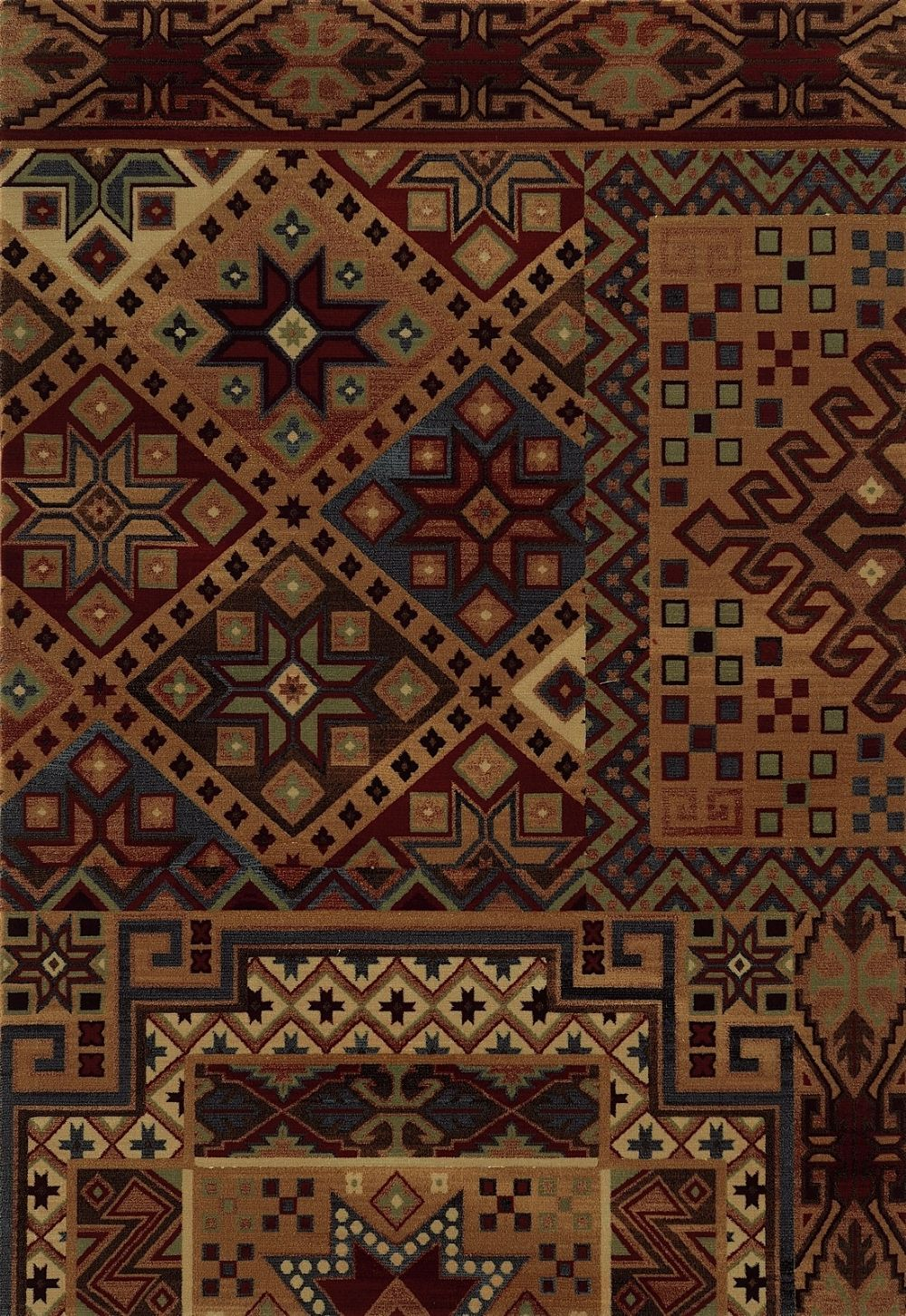 rizzy rugs bennington southwestern/lodge area rug collection