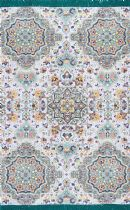 NuLoom Transitional Cotton Lina Mosaic Tassel Area Rug Collection