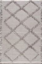 NuLoom Shag Devon Diamond Trellis Tassel Shag Area Rug Collection