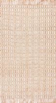NuLoom Contemporary Emiko Tassel Jute Area Rug Collection