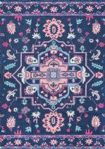 NuLoom Country & Floral Dorla Floral Medallion Area Rug Collection