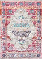 NuLoom Traditional Fancy Medallion Renato Area Rug Collection