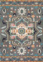 NuLoom Contemporary Clorinda Tribal Medallion Area Rug Collection