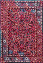 NuLoom Traditional Benito Damask Area Rug Collection