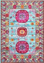 NuLoom Country & Floral Floral Sanora Area Rug Collection