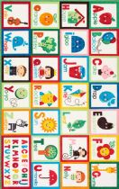NuLoom Kids Alphabet Block Area Rug Collection