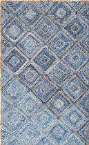NuLoom Braided Diamonds Rima Jute Area Rug Collection
