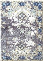NuLoom Traditional Distressed Diamond Medallion Delena Area Rug Collection