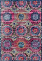 NuLoom Contemporary Faded Medallion Marva Area Rug Collection