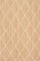 NuLoom Contemporary Caleb Trellis Jute Area Rug Collection