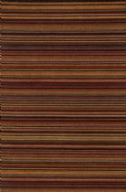 Loloi Solid/Striped Rhodes Area Rug Collection