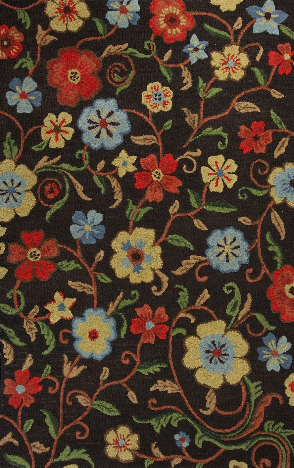 kas cameron country & floral area rug collection