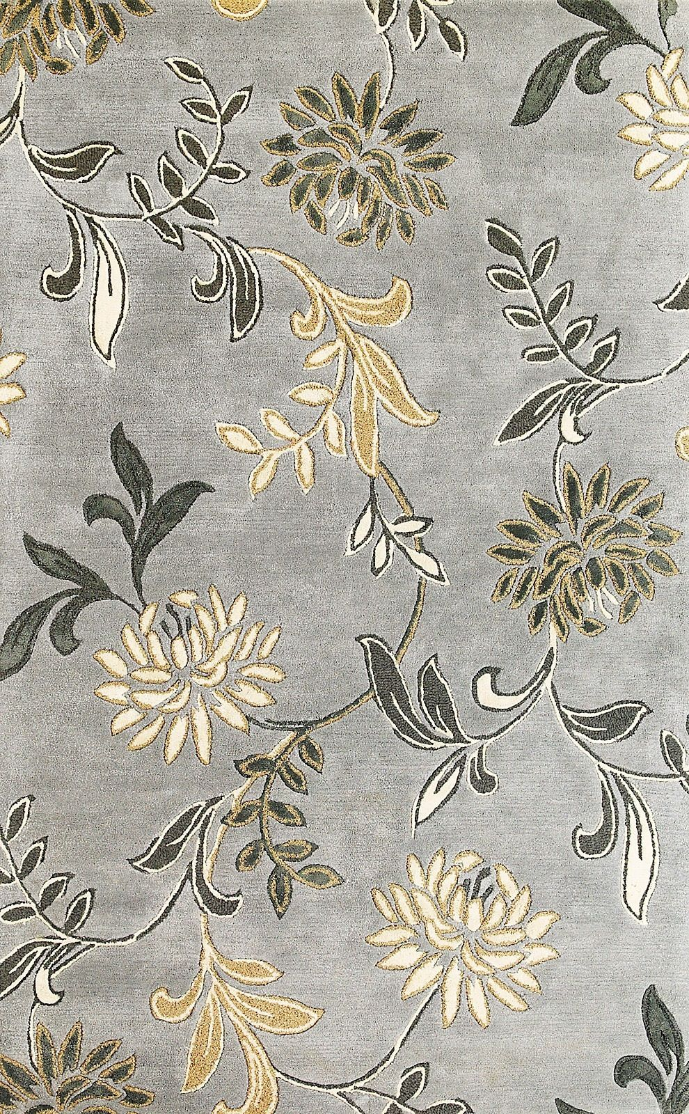 kas florence country & floral area rug collection