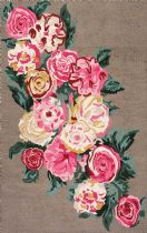 NuLoom Country & Floral Rose Bouquet Area Rug Collection