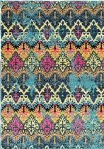 NuLoom Contemporary Ikat Evelina Area Rug Collection