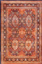 NuLoom Traditional Persian Sultanabad Tiara Area Rug Collection