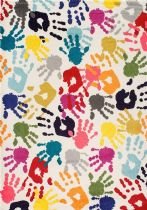 NuLoom Kids Pinkie Handprint Area Rug Collection