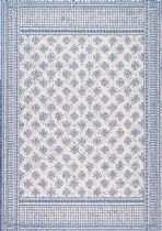 NuLoom Indoor/Outdoor Rana Border Outdoor Area Rug Collection