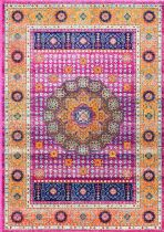 NuLoom Traditional Persian Medallion Santina Area Rug Collection