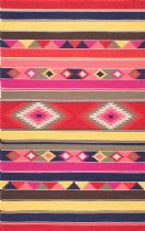 NuLoom Southwestern/Lodge Ladonna Tribal Kilim Area Rug Collection