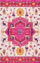 NuLoom Contemporary Medallion Treasa Area Rug Collection