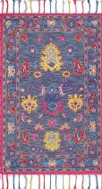 NuLoom Traditional Lidia Vibrant Tassel Area Rug Collection