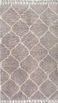 NuLoom Shag Moroccan Trellis Hershel Shaggy Area Rug Collection