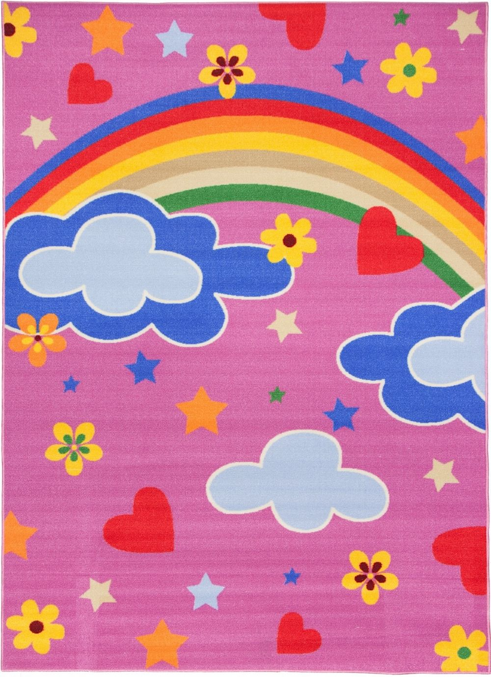 well woven starbright princess kids area rug collection