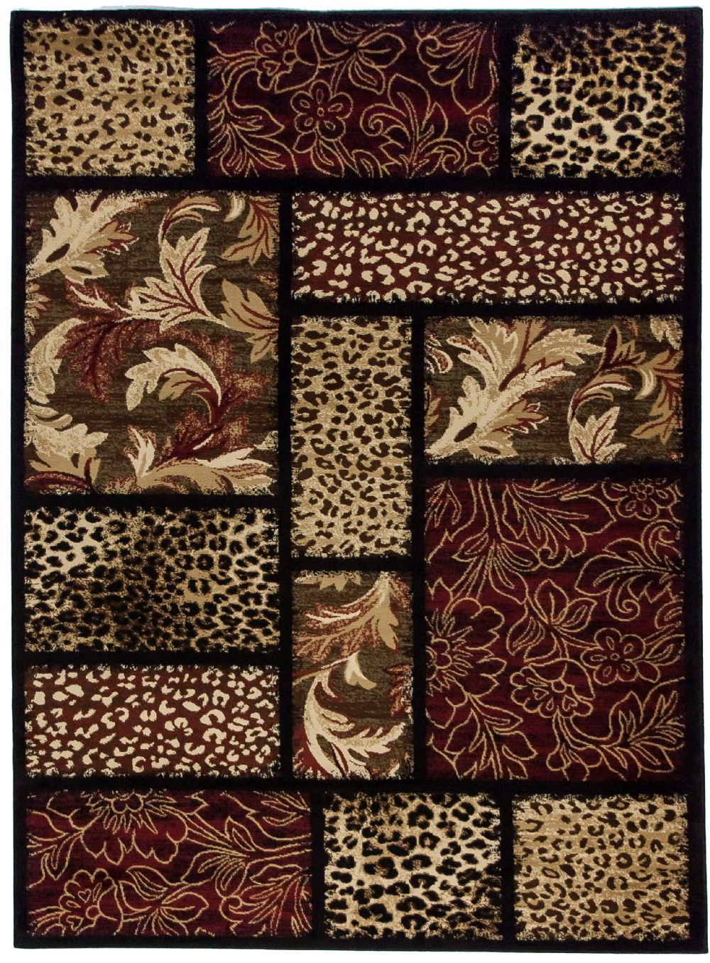 well woven sante fe animal inspirations area rug collection